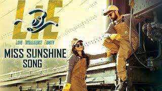 Nithin's LIE Movie Miss Sunshine Song | Motion Teaser | Megha Akash | Fan Made | TFPC - TFPC