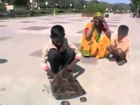 Indian Boy Street Magic