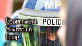 Royalty Free Government Shutdown Loop:Government Shutdown Loop