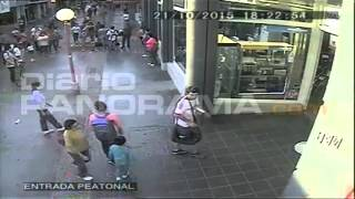 [Video] Agresion a un vendedor ambulante en Sgo. del Estero