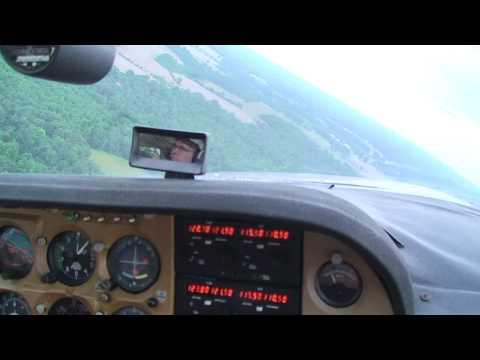 1975 Cessna Cardinal Takeoff and Landing on Grass runway.