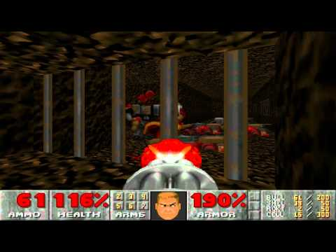 Doom 2 - Map 5 - The waste tunnels (pistol start)