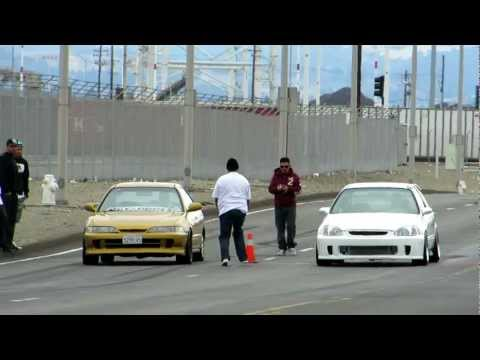 Turbo Integra vs Turbo Civic Hatch
