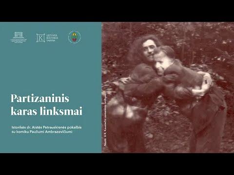 "Lietuvos nacionalinė biblioteka. Ciklas ""Partizaninis karas XXI a. žmogaus akimis"". Partizaninis karas linksmai"