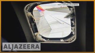 🛬 Southwest begins probe into fatal engine explosion | Al Jazeera English - ALJAZEERAENGLISH