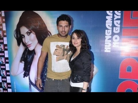 Preity Zinta And Yuvraj Singh At Sophie Choudhary's Single Launch