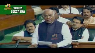 Mallikarjun Kharge Sensational Comments On BJP Over Demonetisation Demerits | Mango News - MANGONEWS