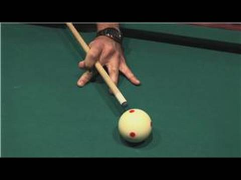 Billiards Tips : Billiard Cuing Techniques