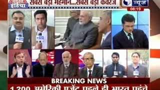 Obama in India: India braces for US President Barack Obama's Delhi visit - ITVNEWSINDIA