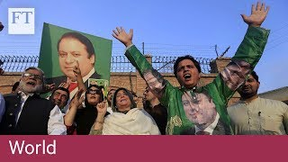 Supporters cheer as former Pakistan PM leaves prison - FINANCIALTIMESVIDEOS