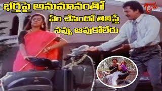 వెనక సీట్ ఉంటే ఏం చేస్తారో నాకు బాగాతెలుసు | Back to Back Comedy Scenes | TeluguOne - TELUGUONE