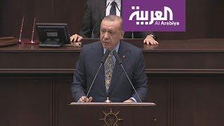 """شاهد .. اردوغان """" يبطل """" التسريبات والتشكيك"""