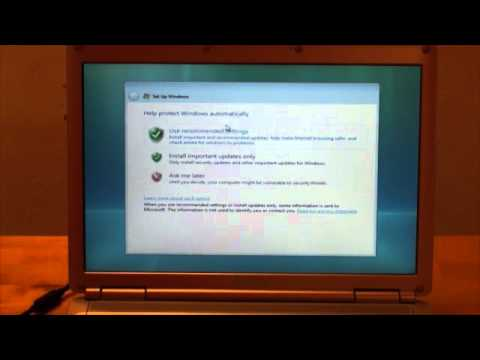 Installing a Windows Operating System
