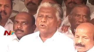 Panneerselvam Activists Fire on CM Palaniswami Activists || Chennai Politics Live Updates || NTV - NTVTELUGUHD
