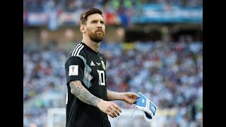 Lionel Messi goes 'missing' from FIFA World Cup 2018, leaves Argentina on the brink - TIMESOFINDIACHANNEL
