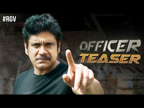 Officer Telugu Movie Teaser, Nagarjuna , Ram Gopal Varma , Myra Sareen