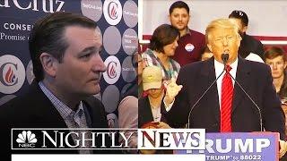 Cruz Looking to Evangelical Base to Overtake Trump in South Carolina | NBC Nightly News - NBCNEWS