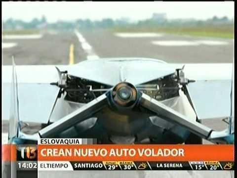 CREAN NUEVO AUTO VOLADOR EN ESLOVAQUIA TELETRECE C13 14 01 2014