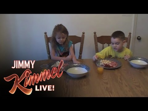 YouTube Challenge - Hey Jimmy Kimmel, I Silverstoned My Kid