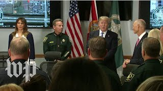 Trump praises Fla. first responders: 'Give them a raise' - WASHINGTONPOST