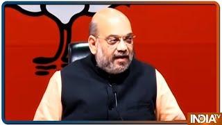 Amit Shah slams Sam Pitroda for remarks on air strike, asks Congress president to respond - INDIATV