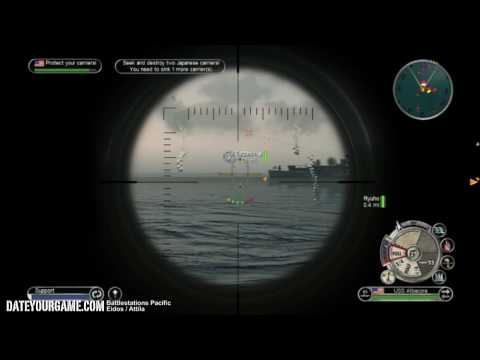 Battlestations Pacific US Walkthrough 8 Battle of The Philippine Sea Gameplay