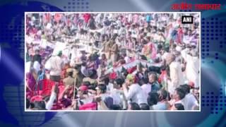 उत्तर प्रदेश (वीडियो) : मुख्यमंत्री अखिलेश यादव ने बीजेपी पर साधा निशाना