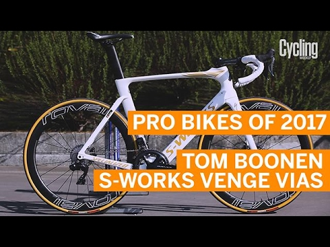 Pro Bikes of 2017: Tom Boonen's Specialized S-Works Venge ViAS Disc | Cycling Weekly