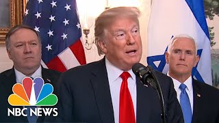 Special Report: Trump speaks during Netanyahu White House visit - NBCNEWS