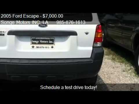 2005 Ford Escape XLT 4dr SUV for sale in Houma, LA 70364 at