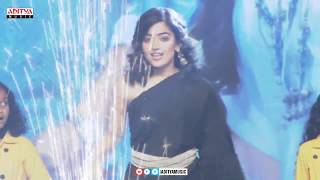 Rashmika Mandanna Dance Performance  @ Devadas Audio Launch | Akkineni Nagarjuna, Nani - ADITYAMUSIC