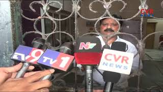 Self Imposed House Arrest by TRS Former MLA Nallala Odelu for Denying MLA Ticket | CVR News - CVRNEWSOFFICIAL