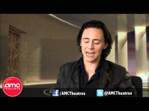 "Tom Hiddleston Talks About Playing Loki in ""THOR"""