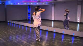 Анна Дельцова - урок 1 [Hip-Hop]