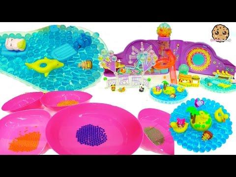 Planet Orbeez Growing Water Balls , Ride Ferris Wheel, Pool + Shopkins Surprise Blind Bags