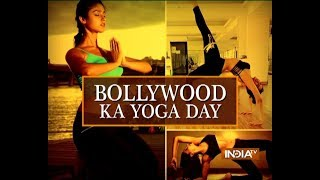 Surveen Chawla explains how Yoga enriches her life - INDIATV