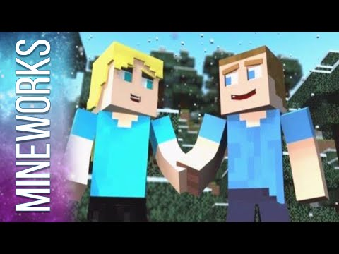Before Monsters Come A Minecraft Parody of One Direction s Live While We re Young Music Video