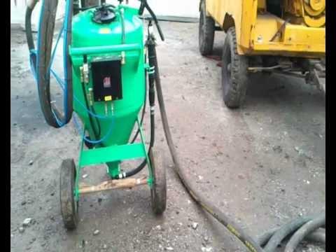 Dust-free sand blasting, Water sand blasting, Dust-free sand blasting machines.