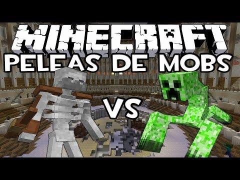 Minecraft: Peleas de Mobs - Esqueleto Mutante Vs Creeper Mutante con IncrossMX!
