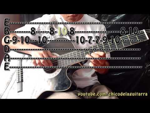 Aprende a como tocar Piratas del Caribe en guitarra