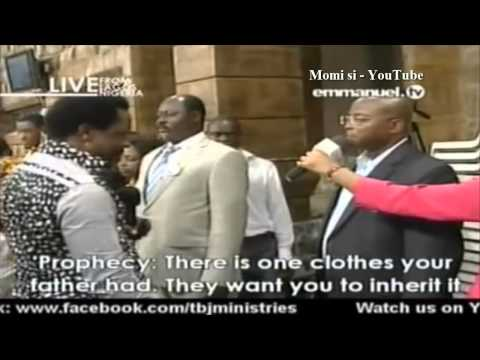 SCOAN 20 April 2014: Prayer Line, Prophecies, Words Of Wisdom And Deliverance With Prophet TB Joshua