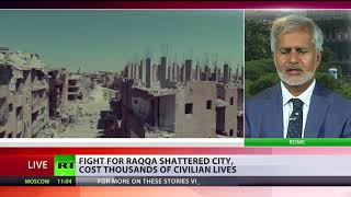 Cost of liberation: Fight for Raqqa devastates city, claims 1,000s of lives - RUSSIATODAY