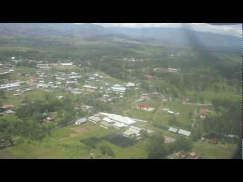 Landing to Wamena Airport, Papua, ATR-42 Trigana Air Service