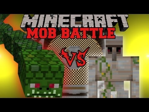 Iron Golem Vs Naga - Minecraft Mob Battles - Twilight Forest Mod