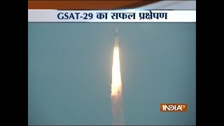 GSAT-29 satellite, launches successfully from Satish Dhawan Space Centre in Sriharikota - INDIATV