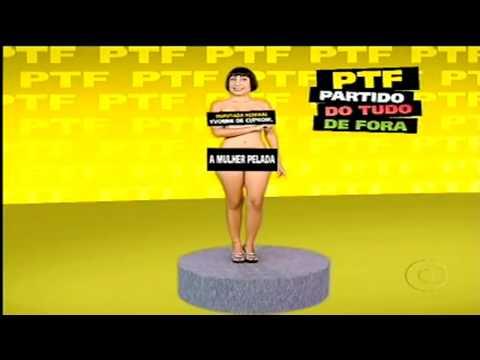 Otário Eleitoral Gratuito -- Candidata Yvone de Couproir -casseta e planeta