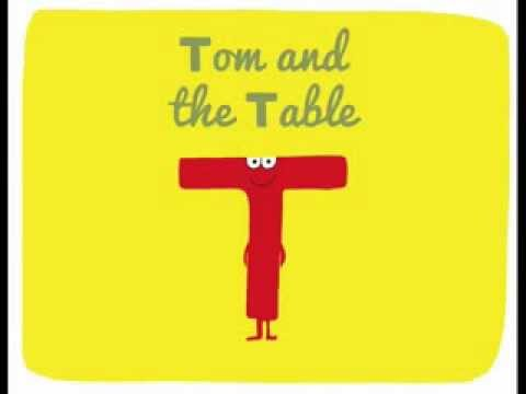 Alphabet Letter - T: TOM & THE TABLE ( ABC