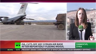 Fiercest ISIS offensive: Islamists cut off Syrian Deir ez-Zor airbase - RUSSIATODAY