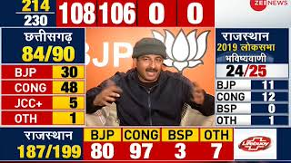 Result Breaking: Election results will be in BJP's favour, says Manoj Tiwari - ZEENEWS