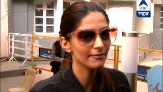 Civic problems are main issues: Sonam Kapoor - ABPNEWSTV